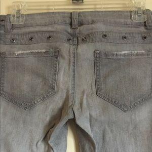Mossimo Gray Skinny Jeans